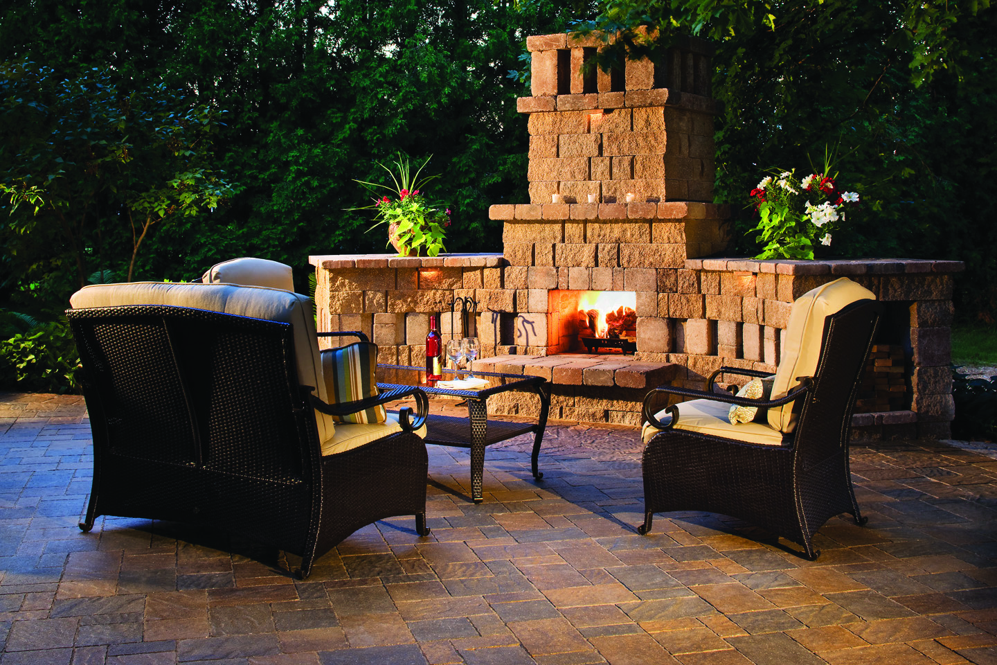 Patio-with-custom-fireplace