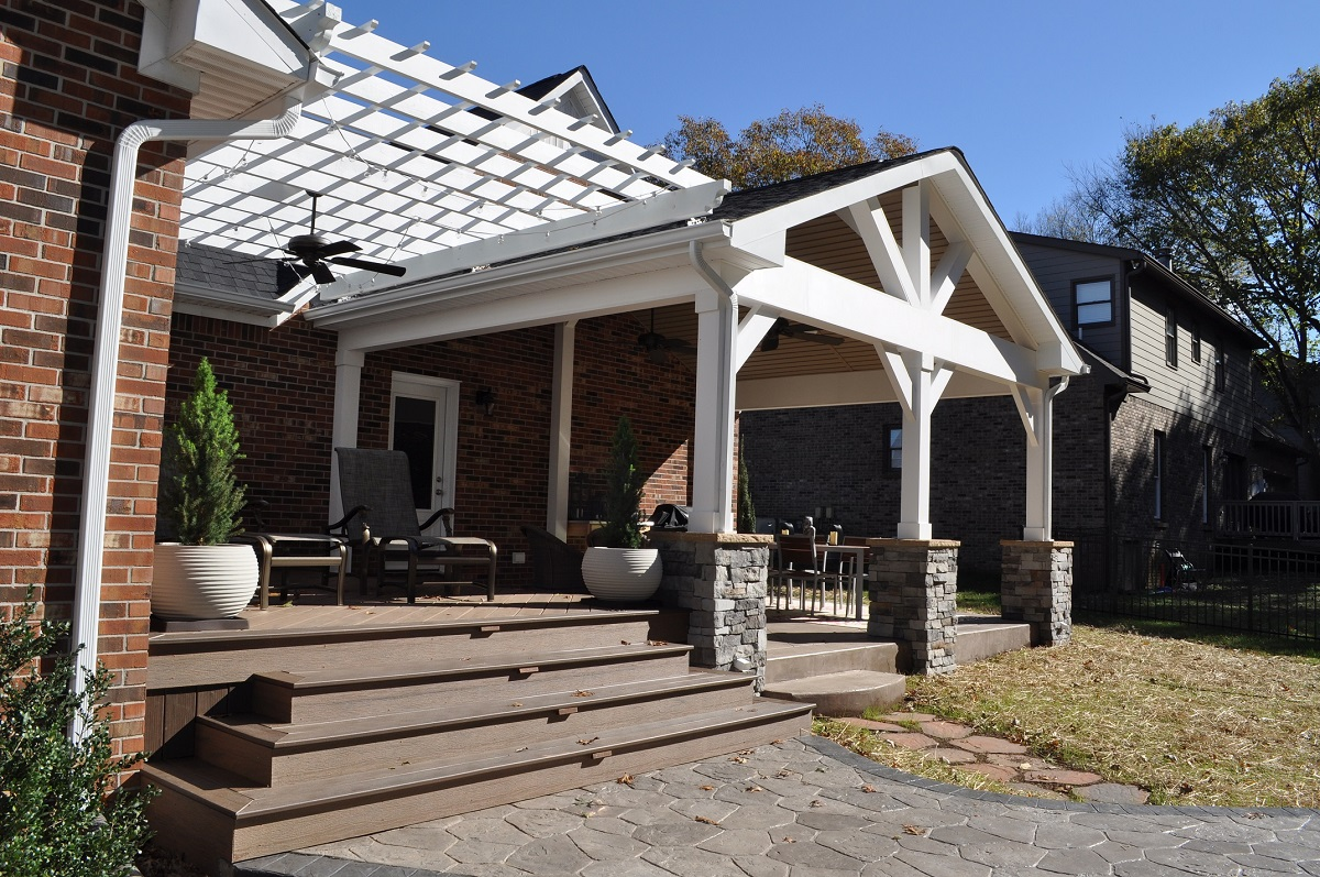 Nashville-patio-deck-and-pergola-combination