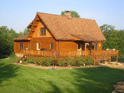 Log Home Exterior Wood Cleaning