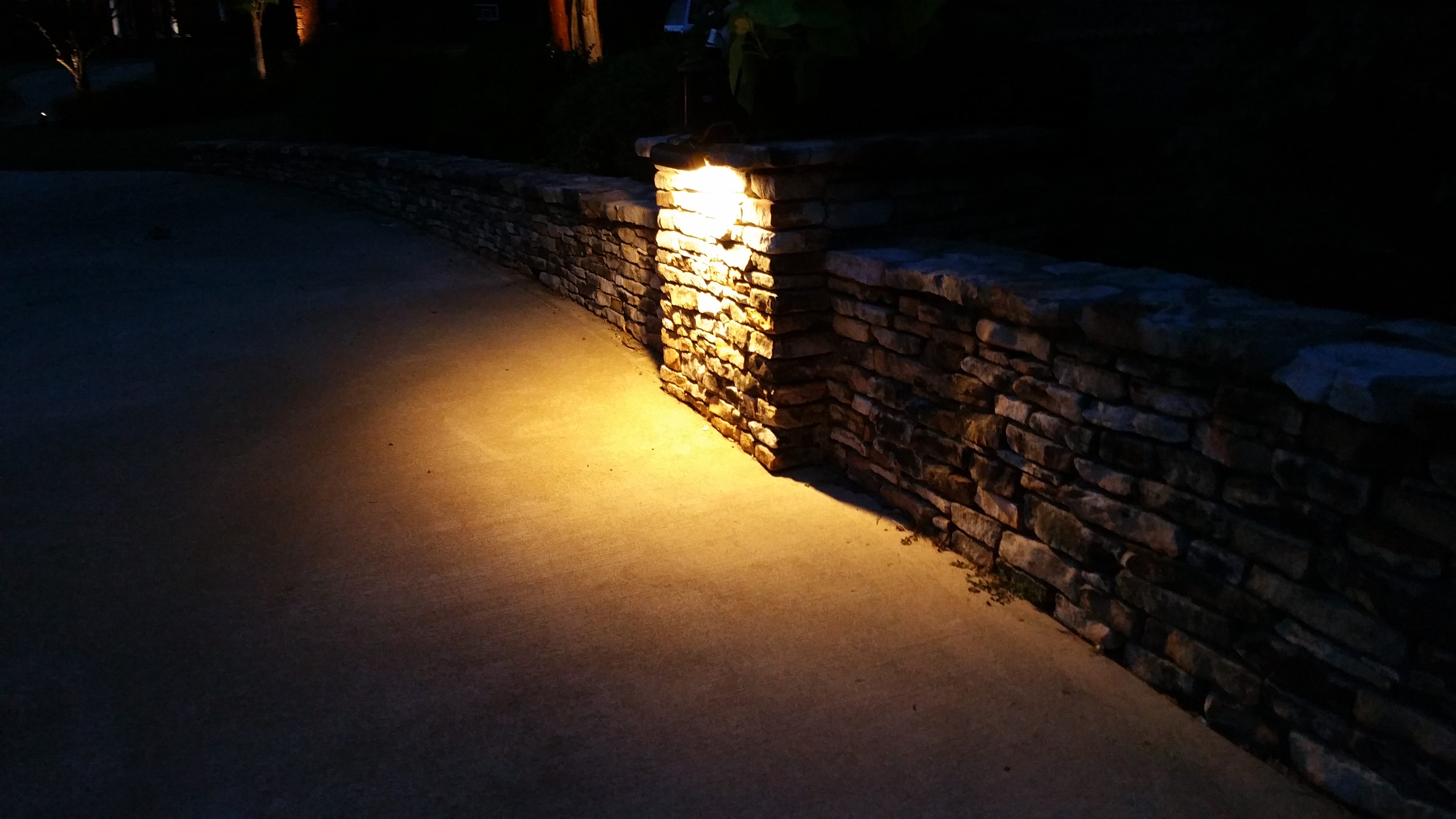 stacked stone natural stone pavers seattle outdoor lighting to