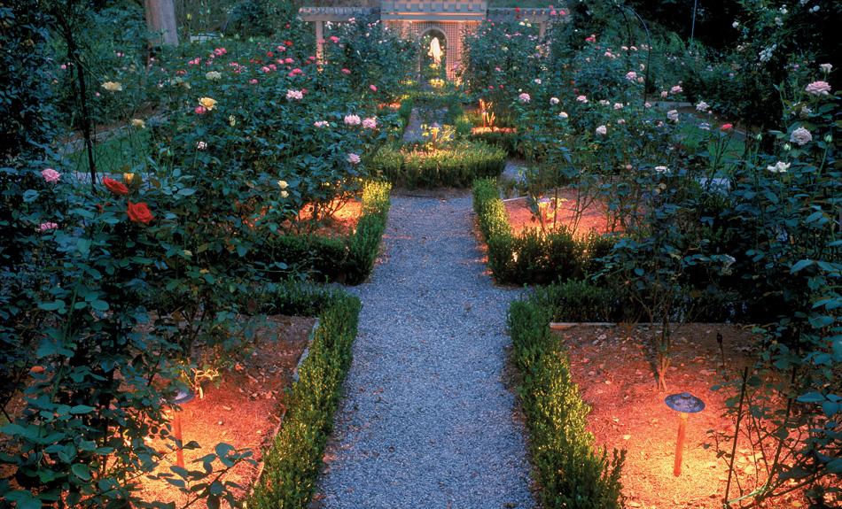 garden lighting in Charleston SC