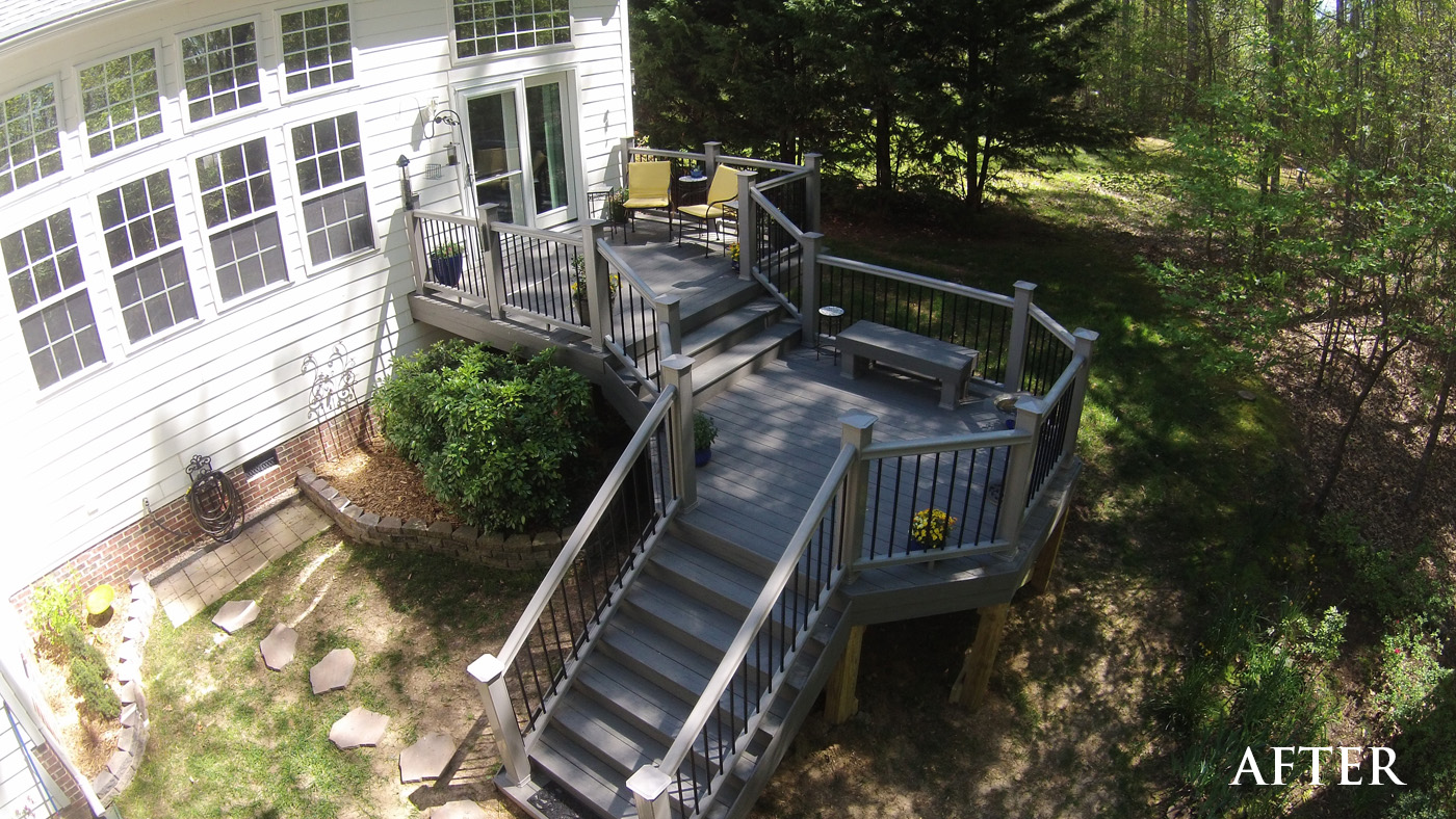 After image of deck