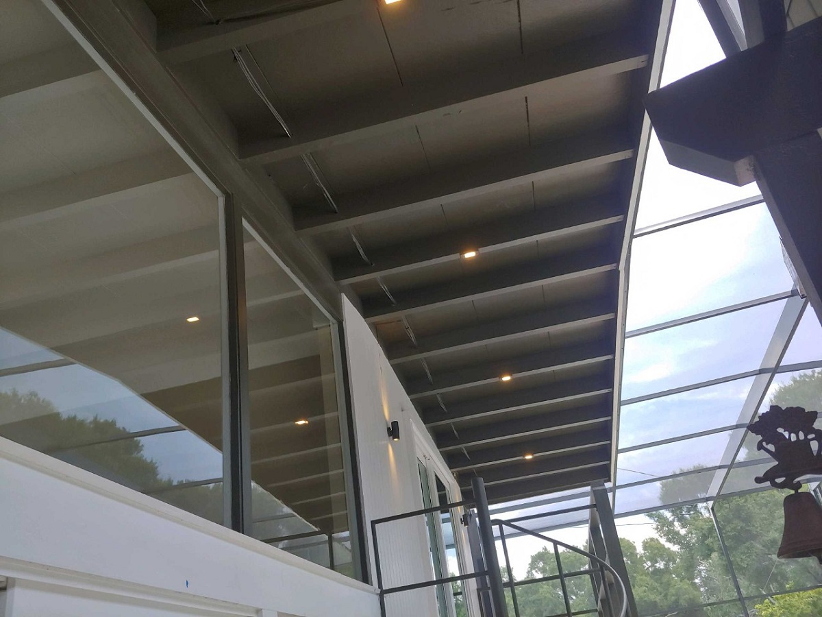 Mini-slimline-LED's-fit-perfectly-into-the-second-story-beams