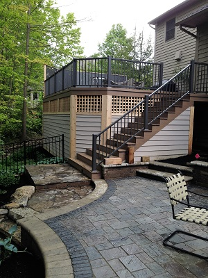 Could Your New Deck And Patio Combination Be A Work Of Art?