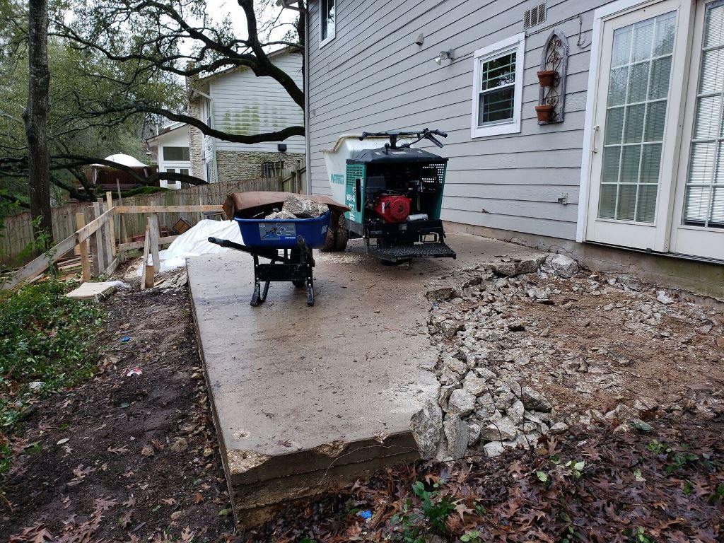We-tore-out-the-old-wooden-deck-and-concrete-patio-underneath