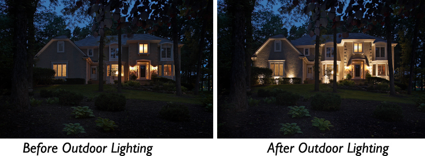 outdoor lighting design Germantown TN