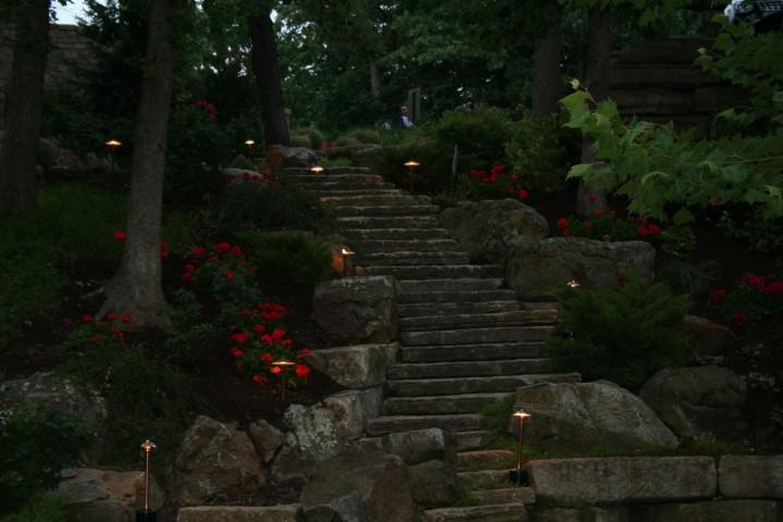 outdoor lighting event rental