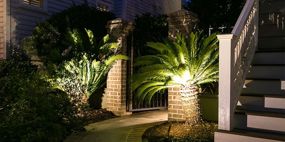 landscape lighting Charleston SC