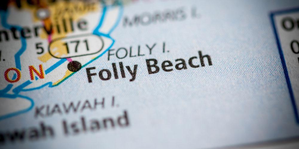 Folly Beach map