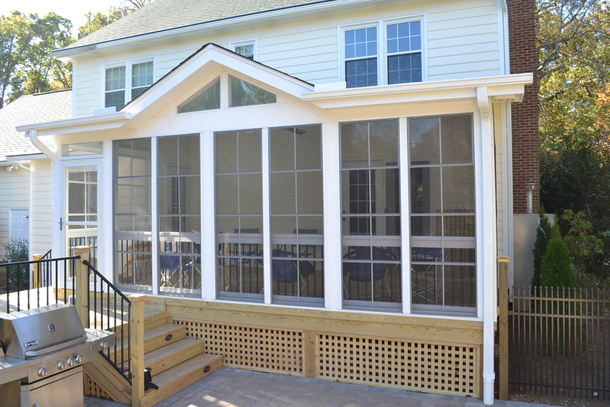 Blog archadeck outdoor living for Walkout basement sunroom