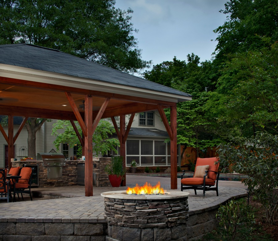 Large Backyard Patio Ideas: Porches & Outdoor Rooms