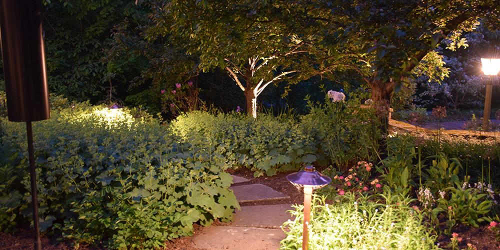 Auburn Ohio outdoor lighting