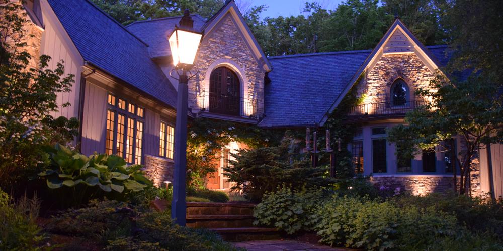 outdoor lighting in Auburn Ohio