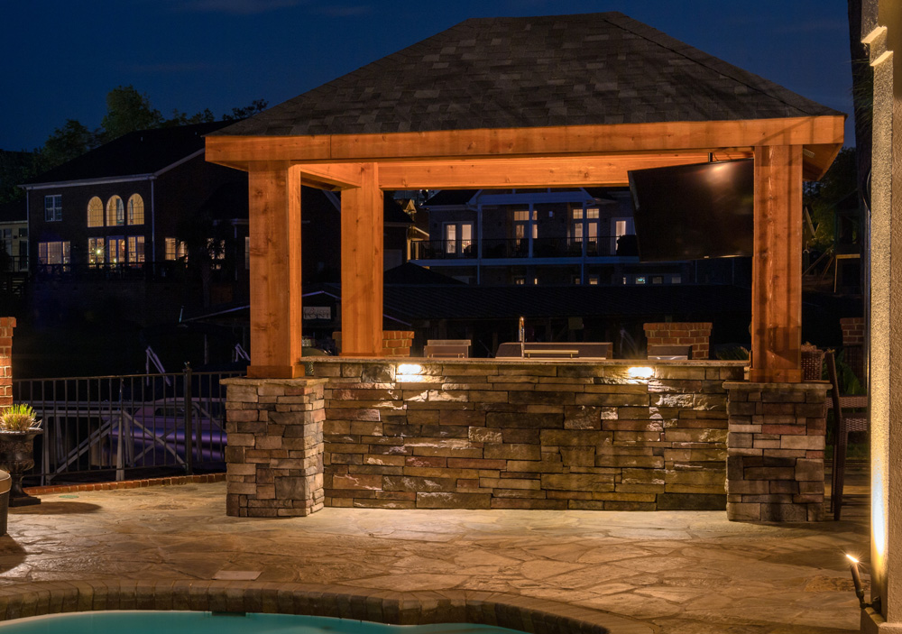 Twin Cities Outdoor Kitchen Lighting Design Ideas You Can Use ...
