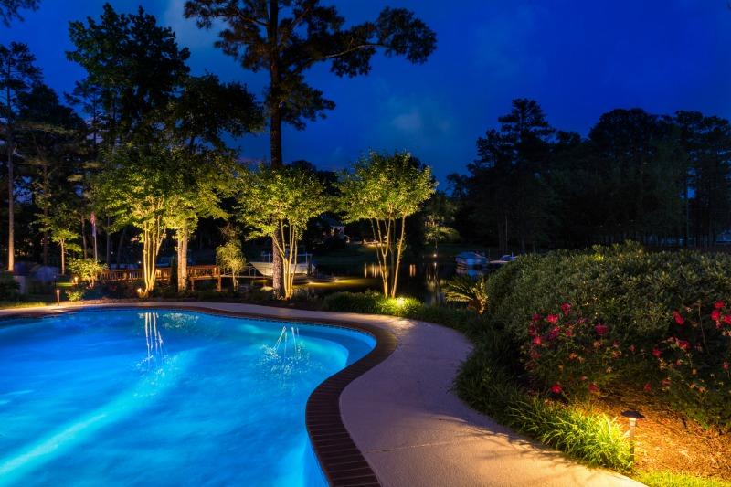 swimming pool lighting options. A Few LED Lighting Options: Swimming Pool Options