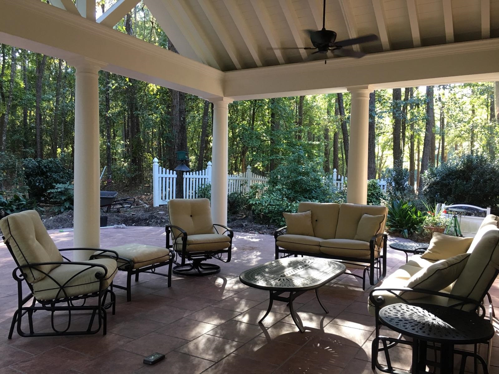 Columbia Screened Porch And Open Porch Builder