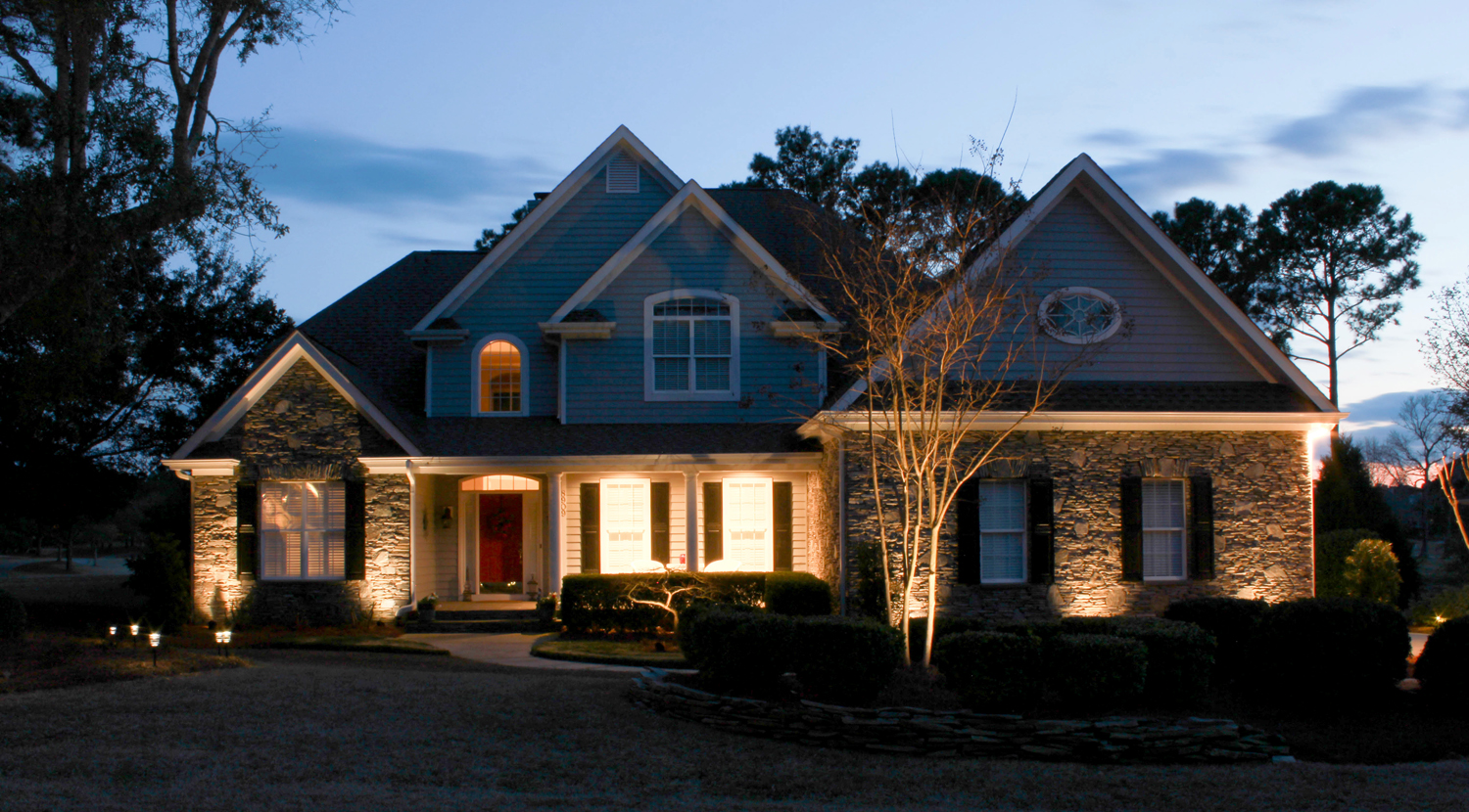 wilmington landscape lighting installation