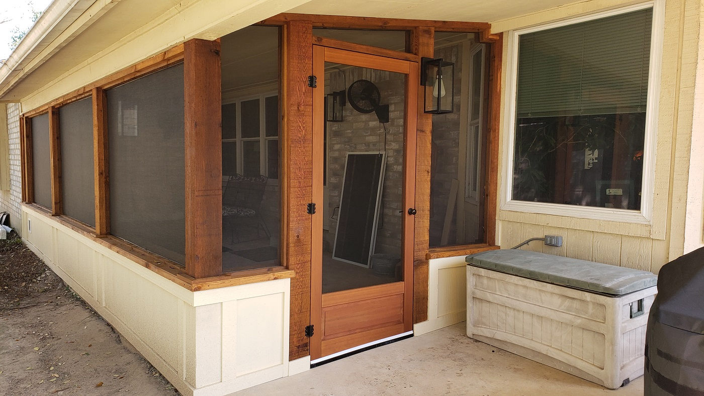 Pflugerville-custom-screened-patio/porch-by-Archadeck-of-Austin