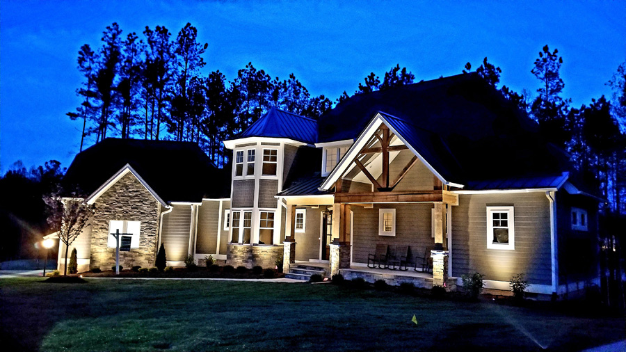 the purpose of your landscape lighting