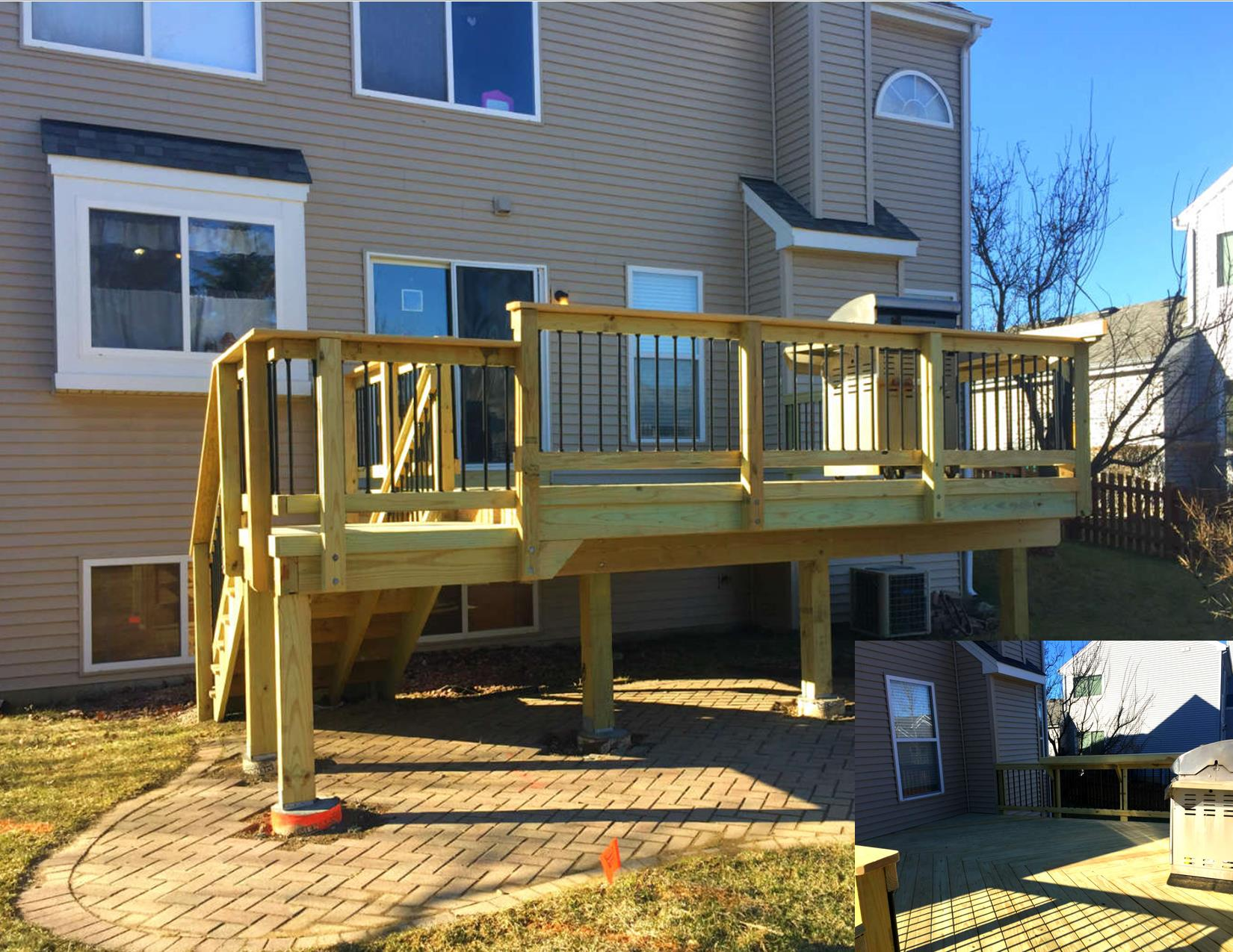 Wood Deck Design in Gurnee, IL Thumbnail