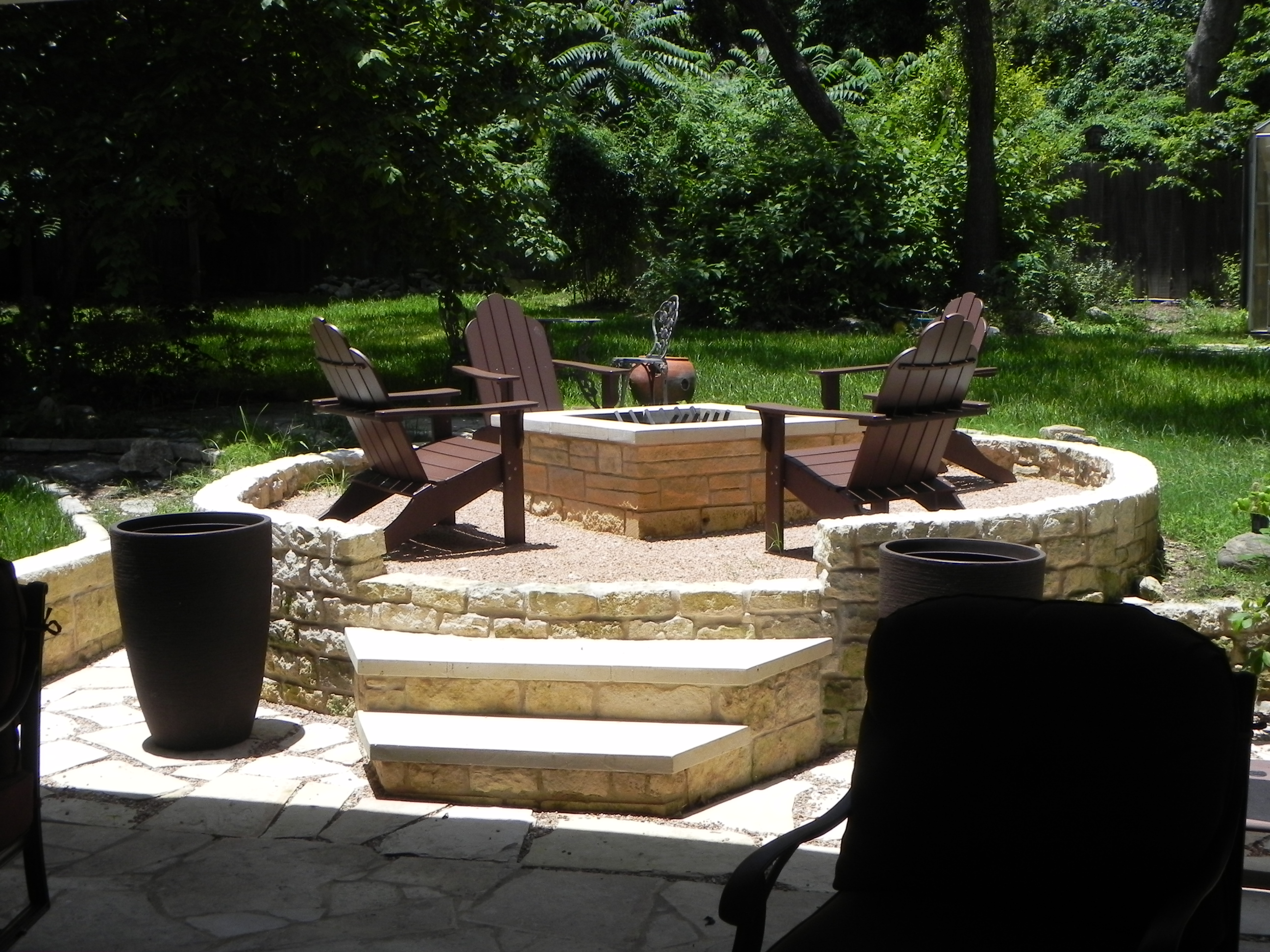 Great When Choosing A Hardscape For Your Austin Outdoor Structure Stone Is A  Natural!