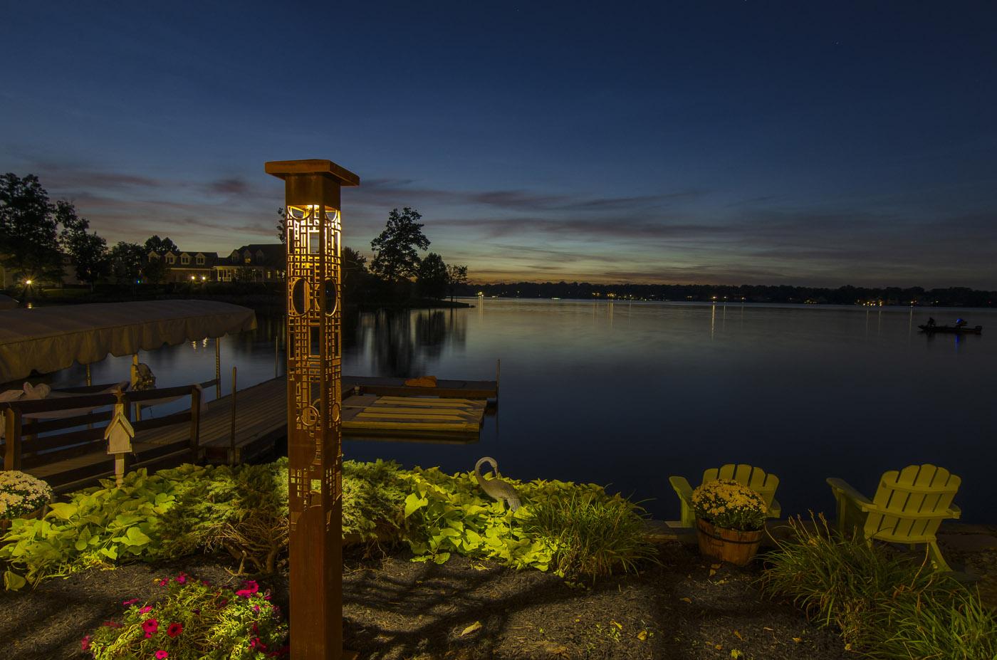 Decorative outdoor lighting redmond seattle garden sculpture lighting aloadofball Gallery