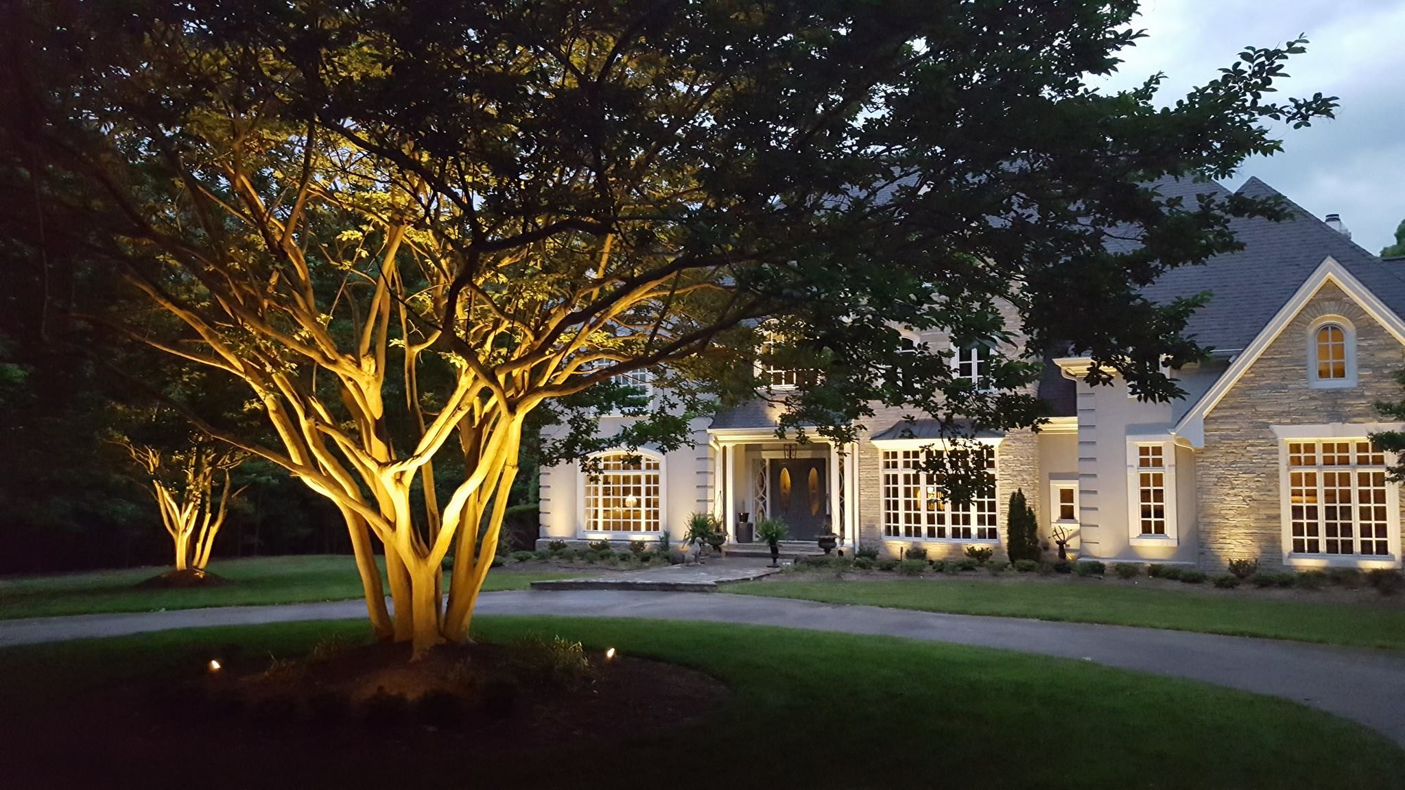 Raleigh NC architectural lighting