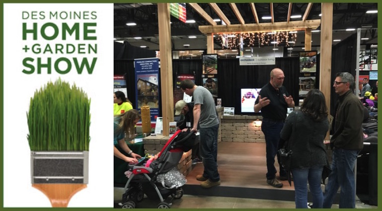Exceptionnel Des Moines Home + Garden Show Thursday, February 11th Thru Sunday, February  14th. The Traditional Home And Garden Show Promoted By Marketplace Events,  ...