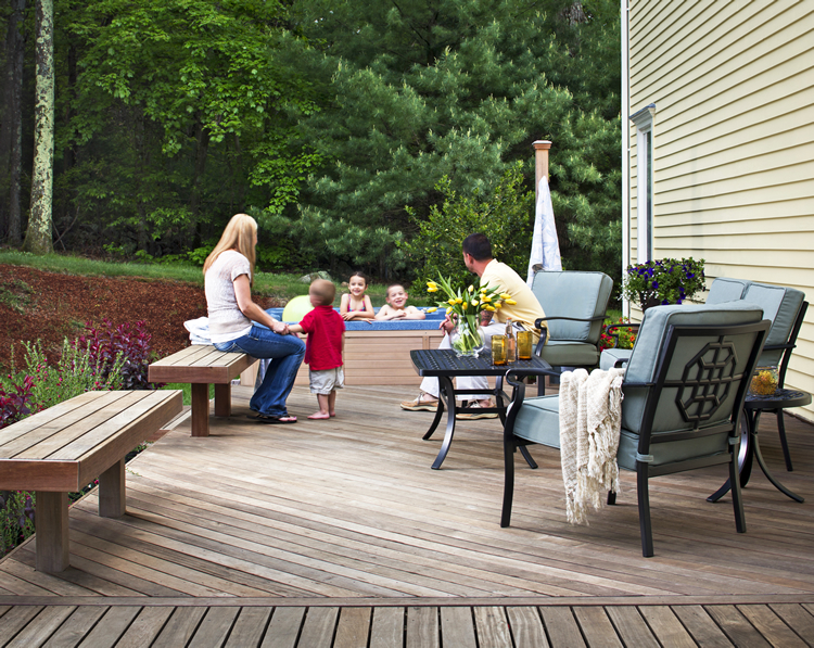 build a wood deck Charlotte