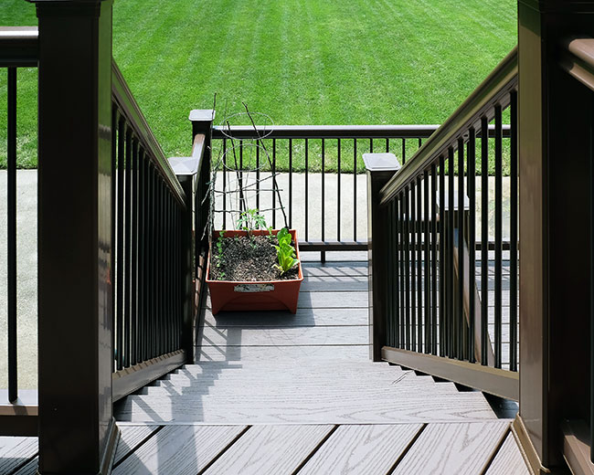 Winston Salem deck
