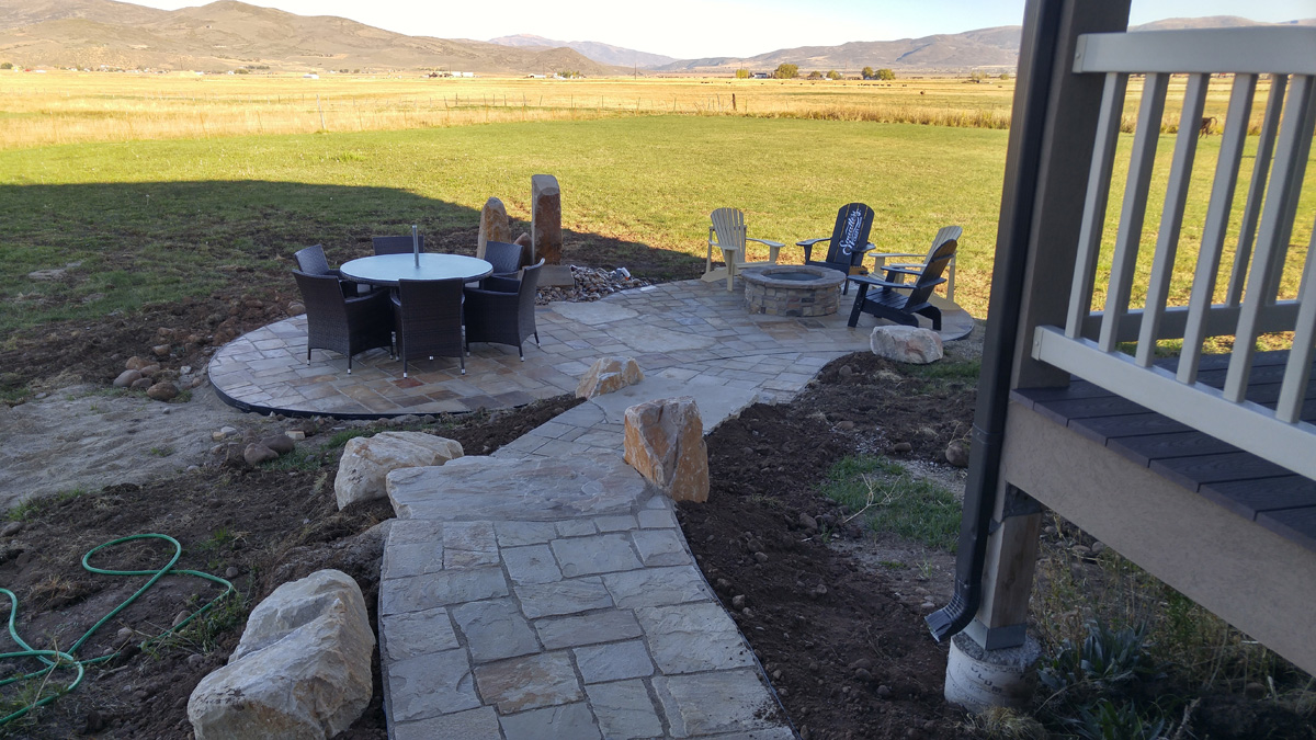 Did You Know Hardscape Patios Are A Perfect Addition To A Backyard That  Already Features A Gorgeous Deck? Paver Patio Additions Can Be Built  Underneath Your ...