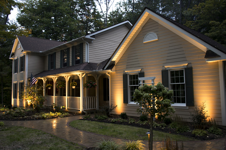 exterior home lighting maintenance