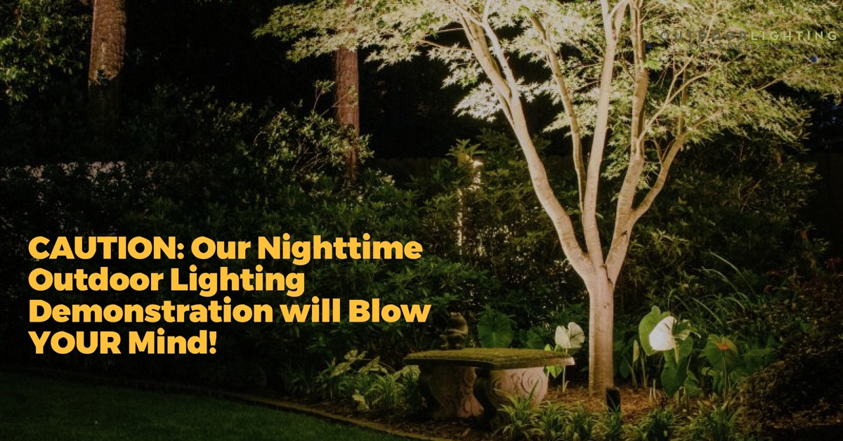 Warning a nighttime outdoor lighting demonstration will blow your this exclusive complimentary design consultation is crucial to discovering how your home and property can be transformed with outdoor lighting before you aloadofball Gallery