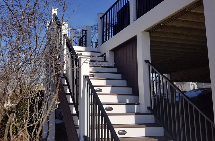 TimberTech deck Parkville MO