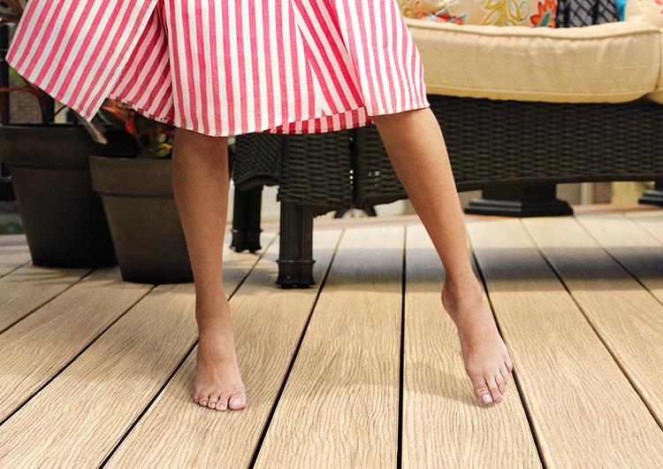 No splinters on TimberTech decks