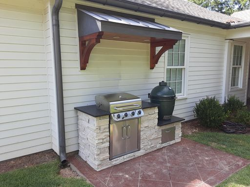 Custom-smoker-and-grilling-station-by-Archadeck-of-Central-GA