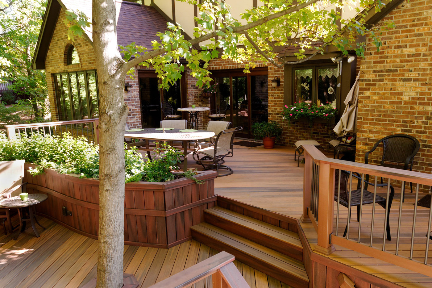 Raleigh Multi-Level Decking: More Than Just a Beautiful ... on Garden Patio Decking Ideas id=28922