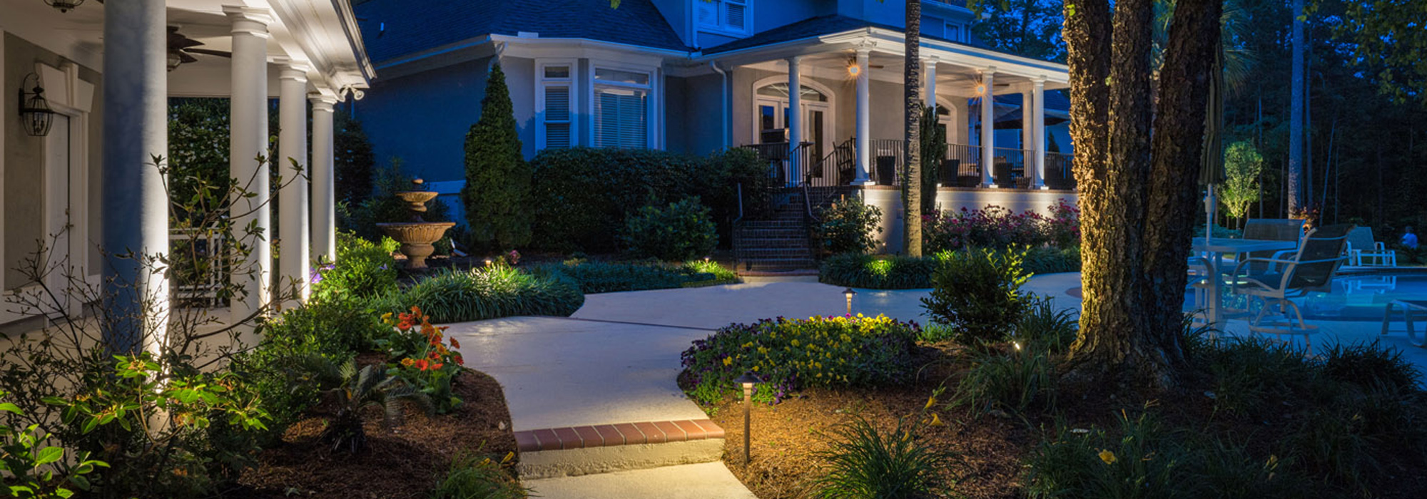 Blog outdoor lighting perspectives week to set up your free landscape lighting design consultation youll be one step ahead when memorial day weekend rolls in and summer celebrations mozeypictures Image collections
