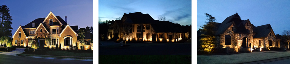 Landscape lighting for gorgeous greenville outdoor living greenville landscape lighting that makes every space even better aloadofball Gallery