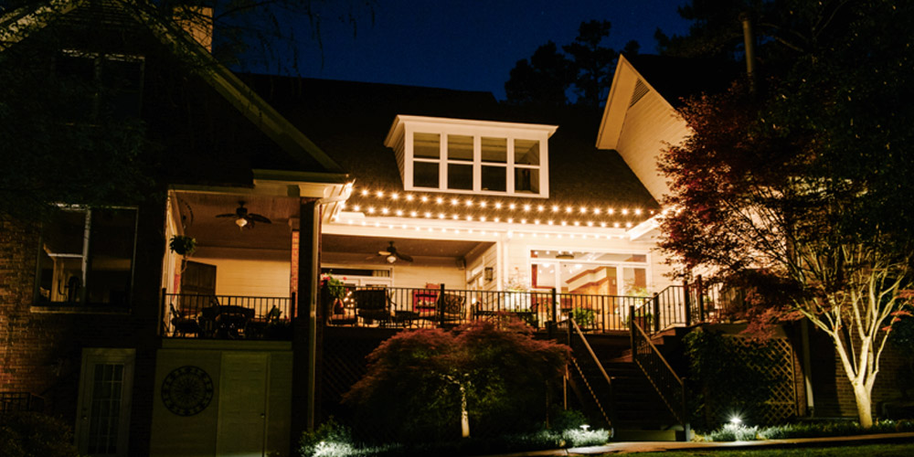 outdoor lighting installation in Forest Acres SC