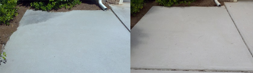 concrete cleaning and sealing Charlotte NC