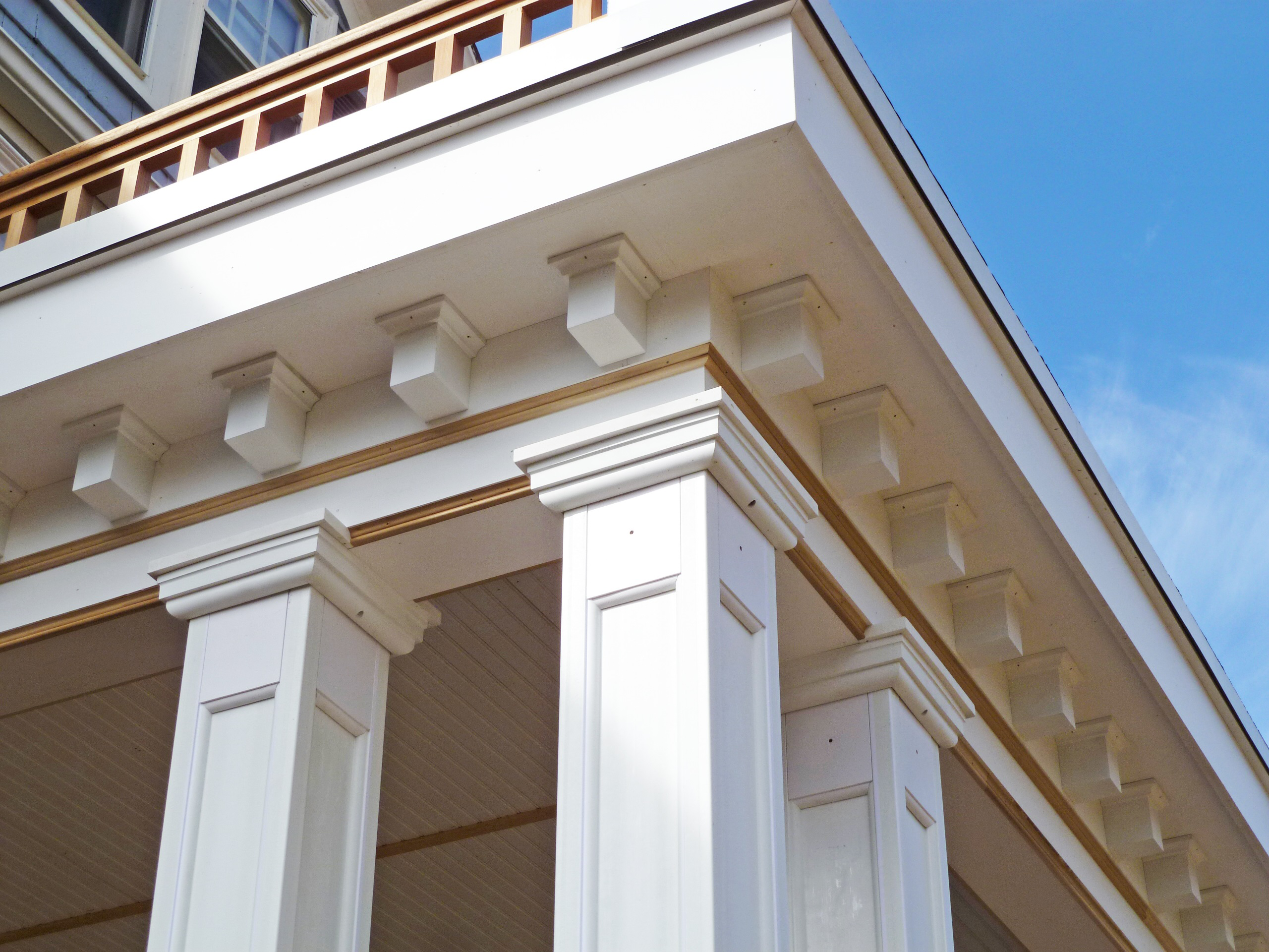 Square Column Trim : Porches archadeck outdoor living