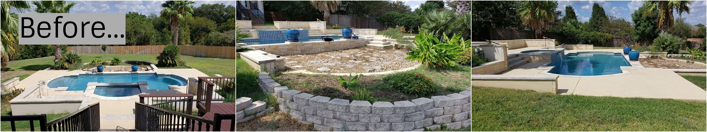Backyard-pool-area-before-we-began-the-project