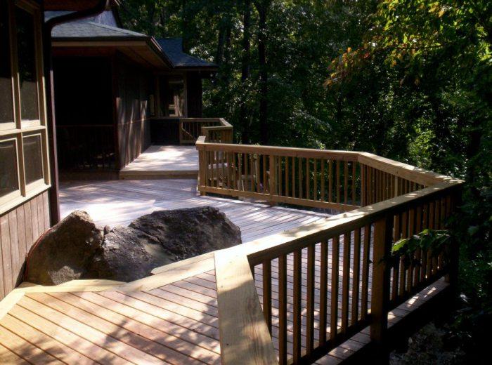 Pressure-treated-custom-deck-overlooking-the-Saluda-River