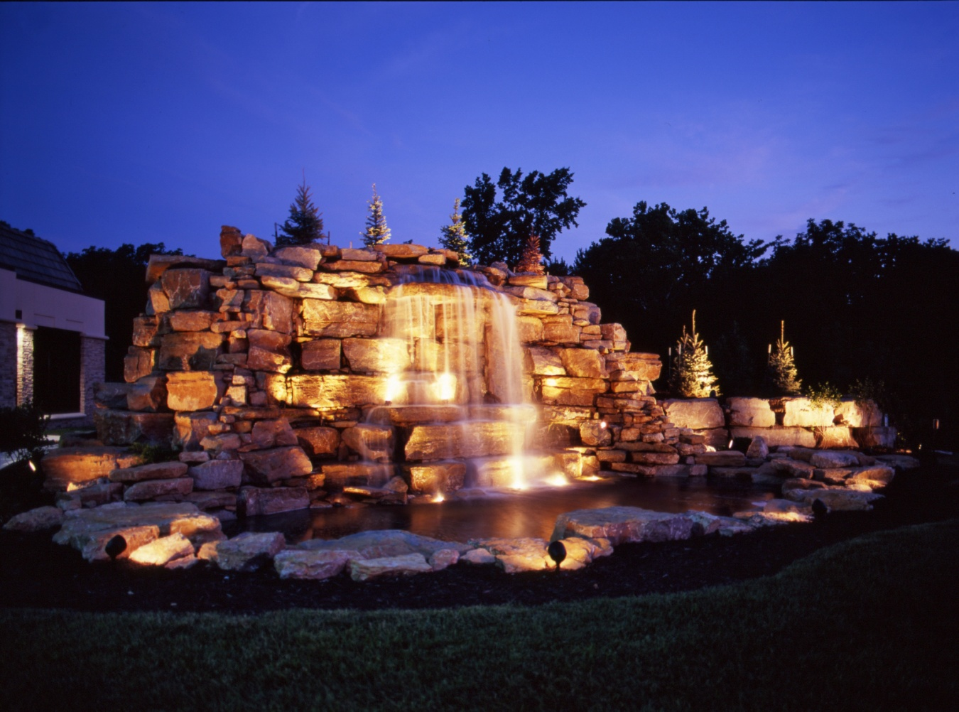 feature lighting ideas. create relaxing places with naples outdoor lighting feature lighting ideas r