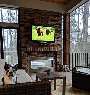 We only build screened porches with PetScreen!