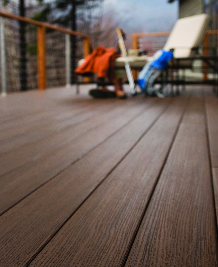 sustainable decking TimberTech AZEK