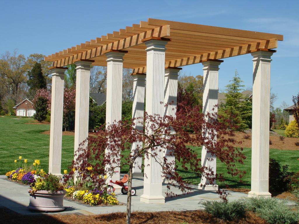 Winston Salem garden pergola