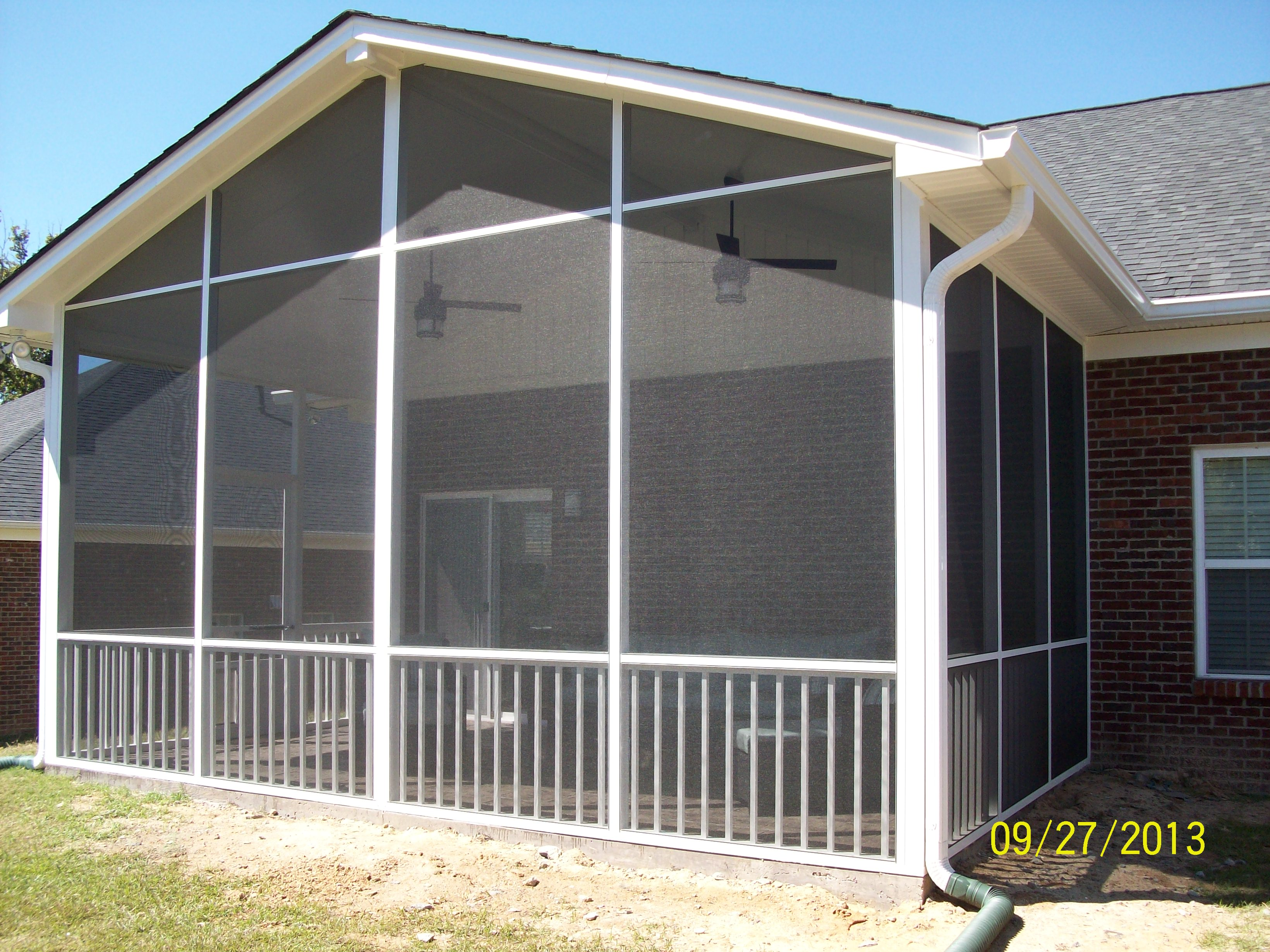 enclosure installation rooms porch richmond screen screened room systems deck and