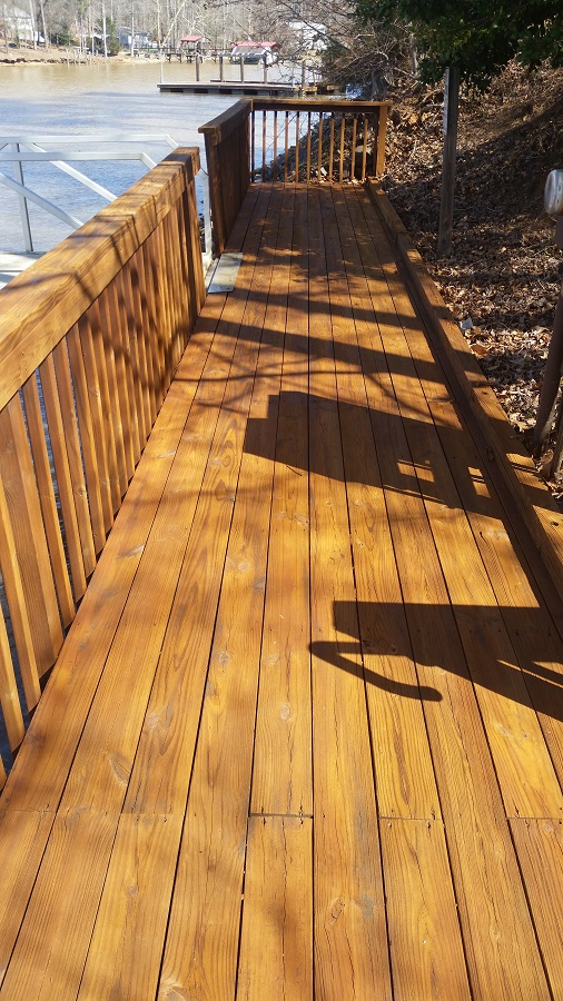 commercial wooden surface cleaning Charlotte NC